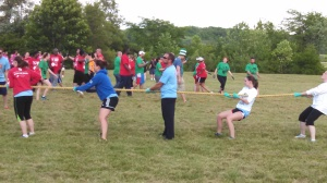 LJB Tug of War Team