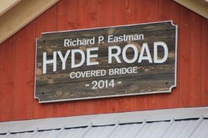 Hyde Road Bridge sign