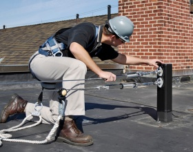 As a dually registered professional engineer and certified safety professional, Thom Kramer is widely recognized for his ability to apply both disciplines to solve fall protection challenges.